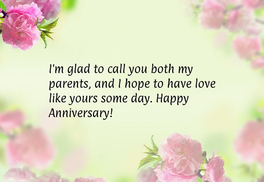 Th anniversary quotes for parents wishes