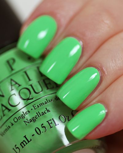 Opi Neon 2014 You Re So Outta Lime