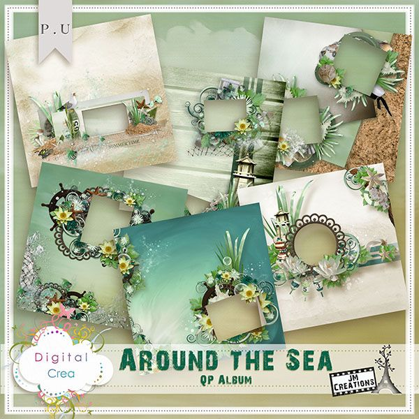 Around the Sea QP Album by JM Creations Around the Sea QP Album by JM Creations [jmc_around_the_sea_QP_Album] - €1.80 : Digital-Crea.fr, La boutique du Scrapbooking Digital