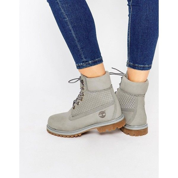 Boots274❤ Gray Liked On Premium Timberland Icon 6in Pk8n0OXNw