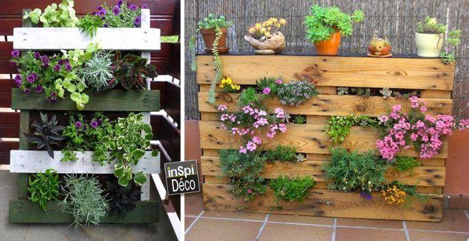 Deco Jardin Avec Palette - onestopcolorado.com -
