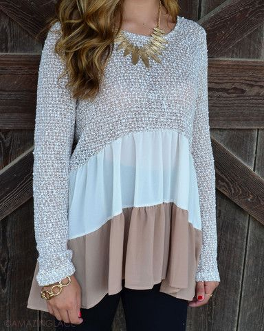 TOPS – Amazing Lace