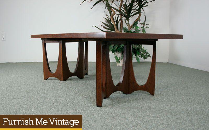 Mid Century Modern Broyhill Brasilia Coffee Table Mid Century