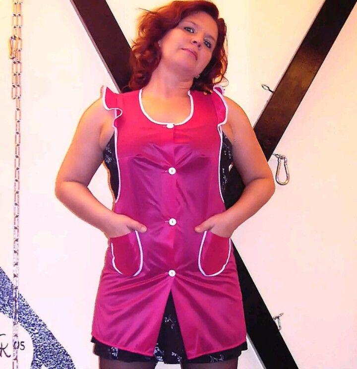 Épinglé par Geraldin sur Kittel | Tablier blouse
