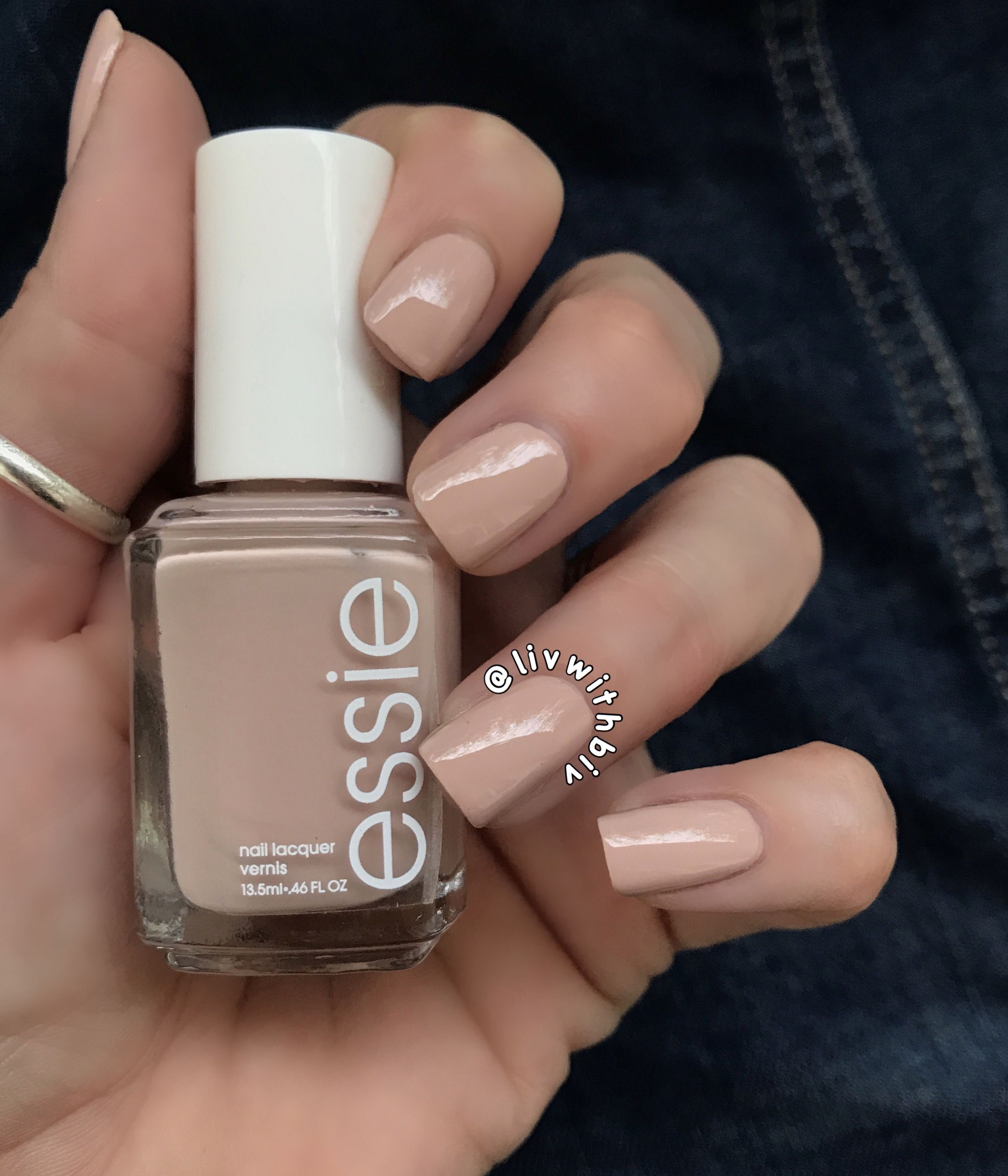 Essie Topless & Barefoot. The perfect nude nail polish!!   Essie ...