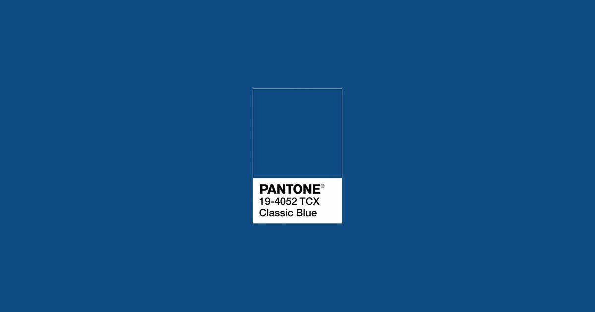 Classic Blue Es El Color Del Ano 2020 Segun Pantone Color Del Ano Pantone Colores
