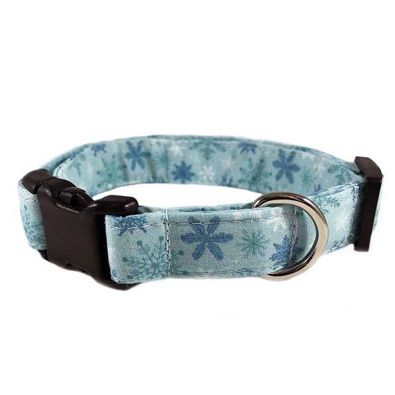 snowflake dog collar boy christmas cat collar girl winter