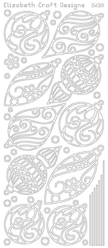 Elizabeth Craft Design PeelOff Sticker 0439B by PNWCrafts on Etsy, $1.99