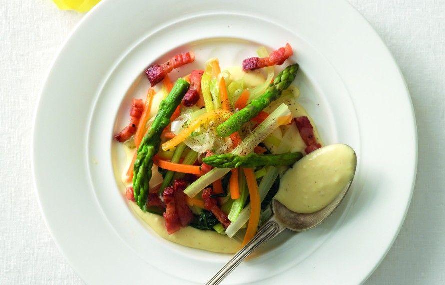 Verdure alla carbonara