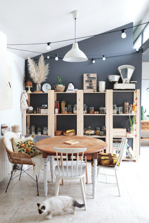 La maison à la déco nature et slow life d\'Emilie Chou fleur | Home ...