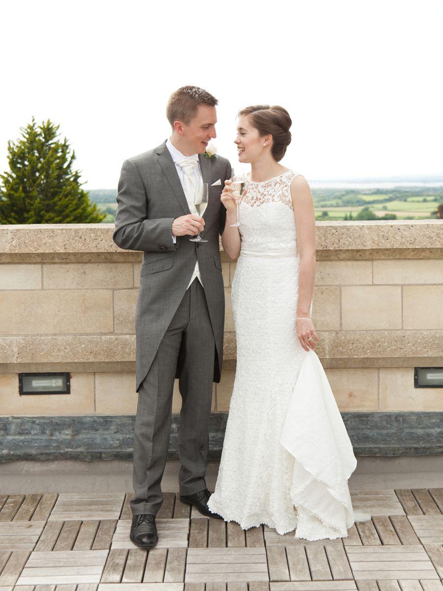 Pearl Bespoke Dressmakers hand made wedding dress. Her wedding dress ...