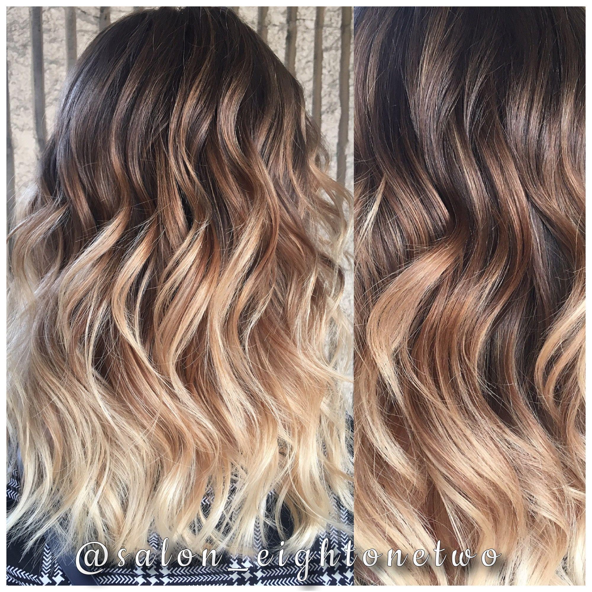 Balayage Red Hair Fall Hair Blonde Hair Highlights Beachy Waves