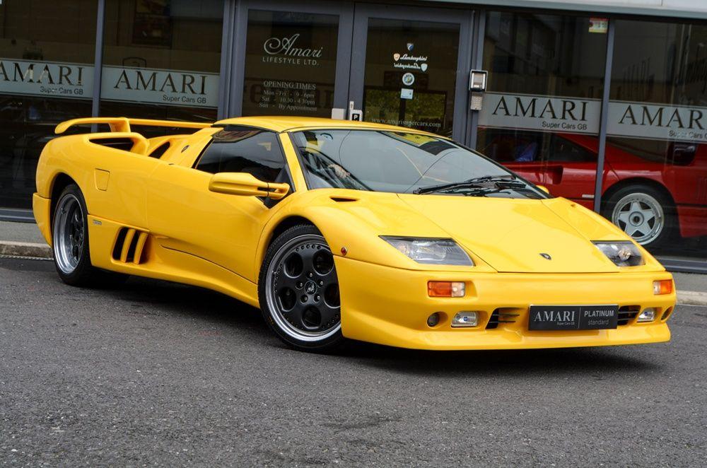 1999 Lamborghini Diablo Vt Roadster Lamborghini Lamborghini