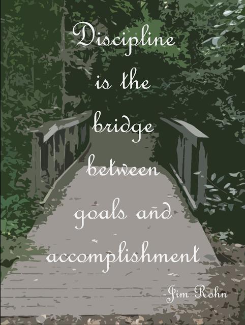 Bridge Quotes Discipline is the bridge between goals and accomplishment.  Jim  Bridge Quotes