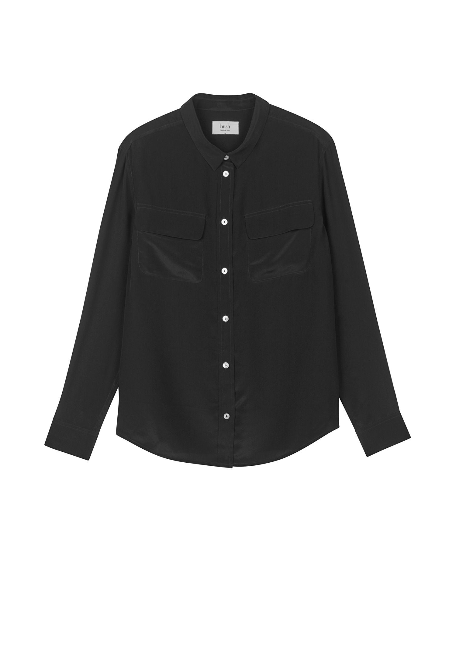 Cecilia Silk Shirt Clothe Black Paraphrase Jacket Tk Maxx