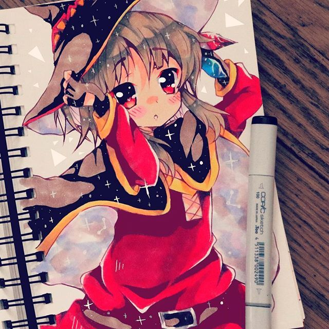 Awesome Page By Kiricheart Using Their Chameleon Pens Chameleonpens Pen Marker Alcoholmarkers Mar Anime Art Beautiful Anime Art Tutorial Kawaii Drawings