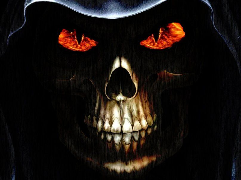 Evil Skull 3d Skull Wallpaper Hd Skull Wallpapers Skull Pictures