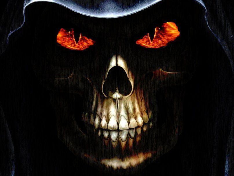 Evil Skull 3d Skull Wallpaper Hd Skull Wallpapers Skull Pictures