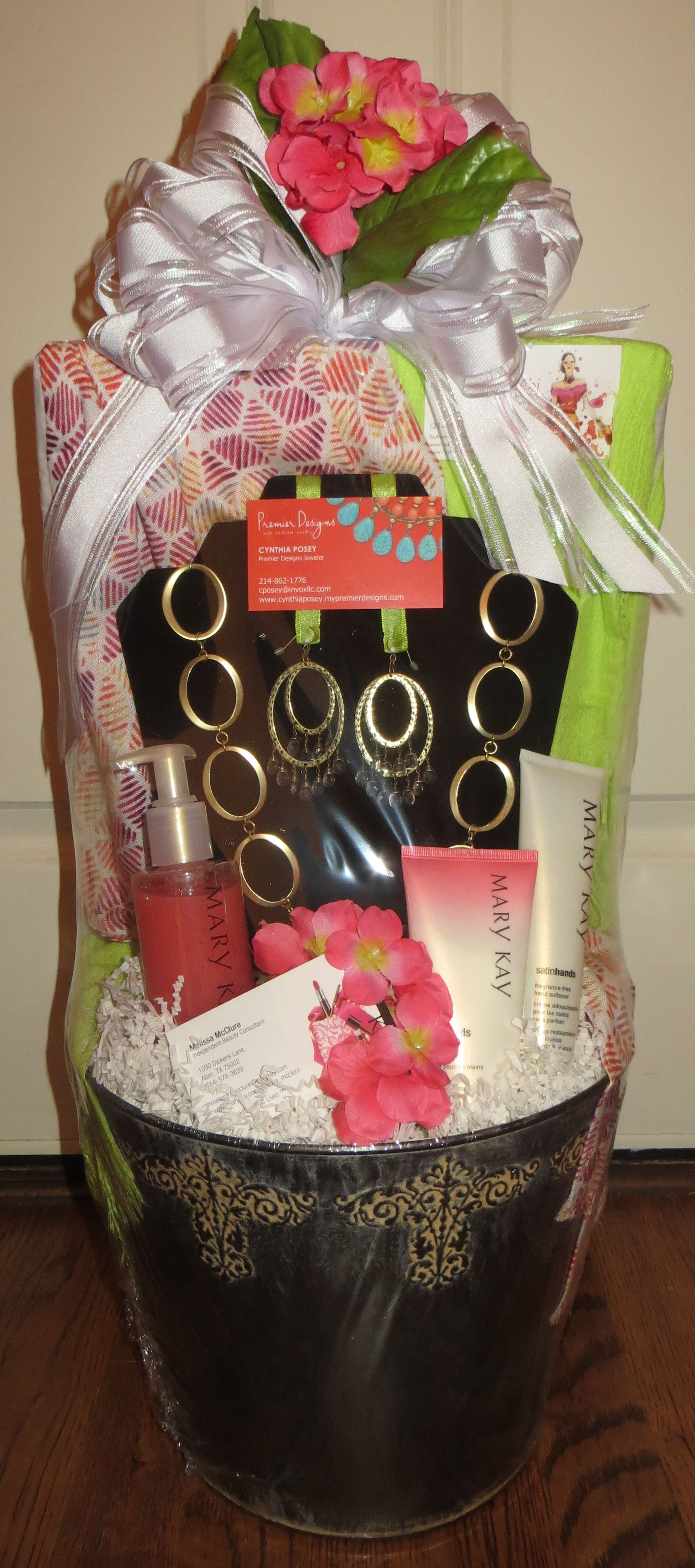 Spring Fashion Gift Basket, Mary Kay, CAbi, and Premier Design are ...