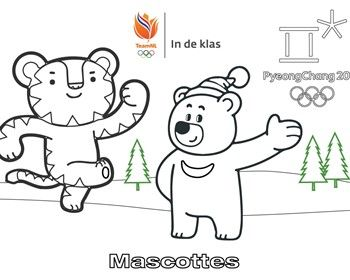 kleurplaten olympische spelen olympische winterspelen