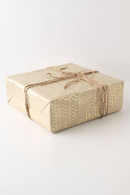 Glinting Arrows Wrapping Paper