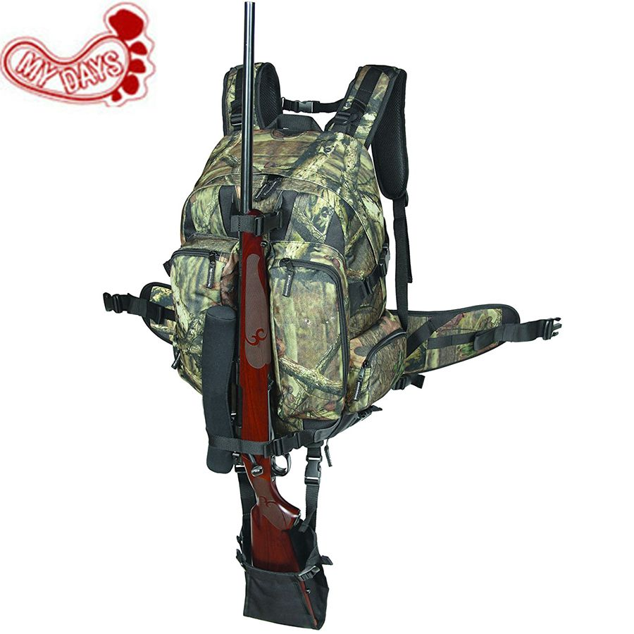 MY DAYS Camouflage Tactical Rifle Backpack Hunting Gun Bag Airsoft ...