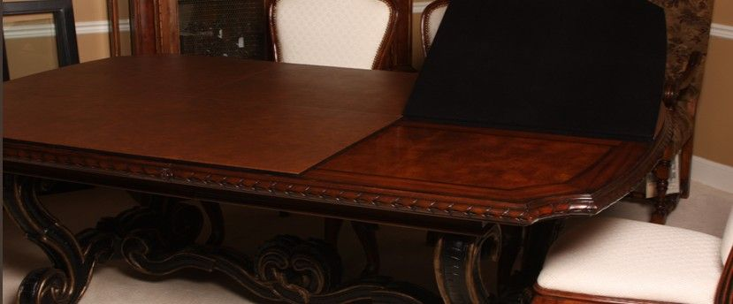 Dining Room Table Protective Pads Fair Manufactures Handcrafted Custom Made Table Pads For Your Beloved Design Ideas