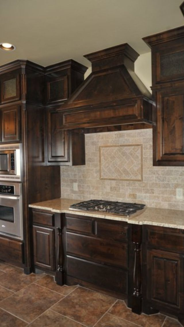 Travertine Backsplash Hmmm To Stain Or Paint The