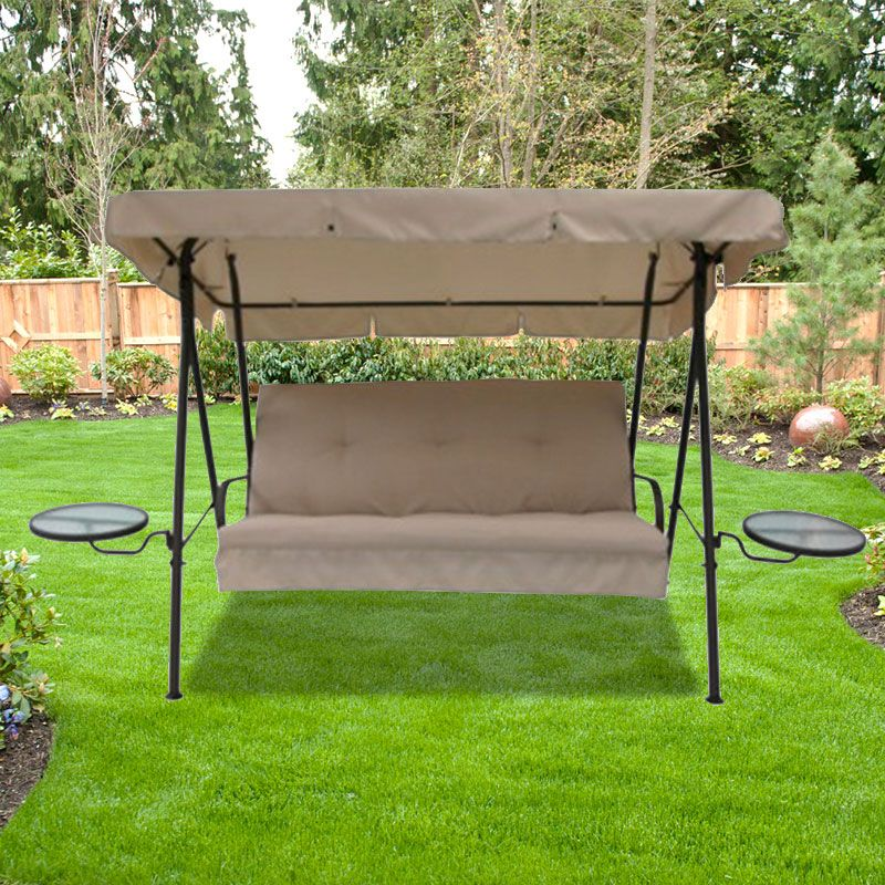 patio swing outdoor swing cushions