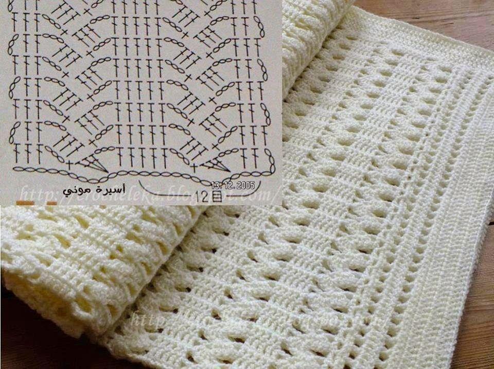 Copertine A Uncinetto Con Schemi E Spiegazioni Blanket Crochet