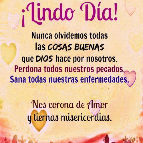 Postales De Buenos Dias Para Mi Amor Con Frase Dios Pinterest