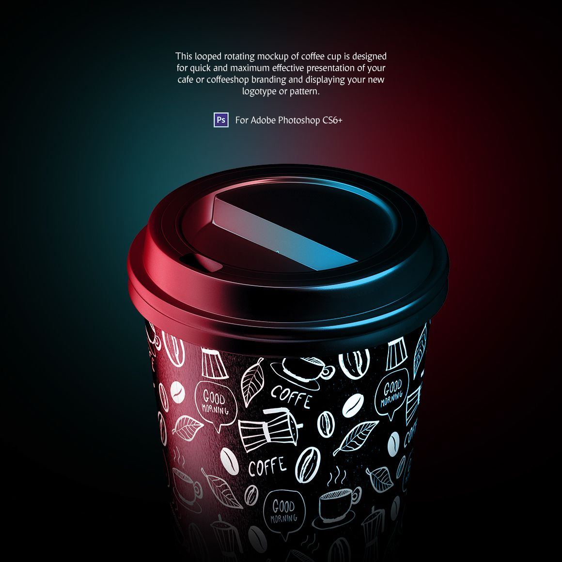 Coffee Cup Animated Product Mockup 77540 Coffee cup