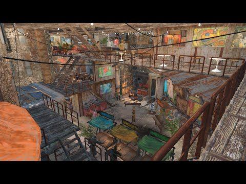 Fallout 4 Secret Garden Hangman S Alley Settlement