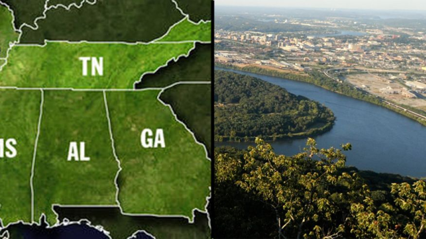 Georgia pols ramp up campaign to shift Tennessee border, siphon ...