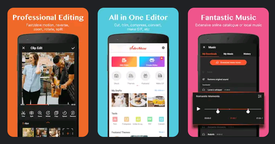 11 Best Android Apps To Edit Tiktok Videos Like A Pro Gizdoc Video Editing Apps Best Video Editing App Video Editing
