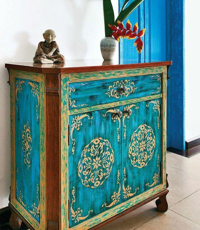 Comment repeindre un meuble? Une nouvelle apparence! Repurposed - meuble en bois repeint