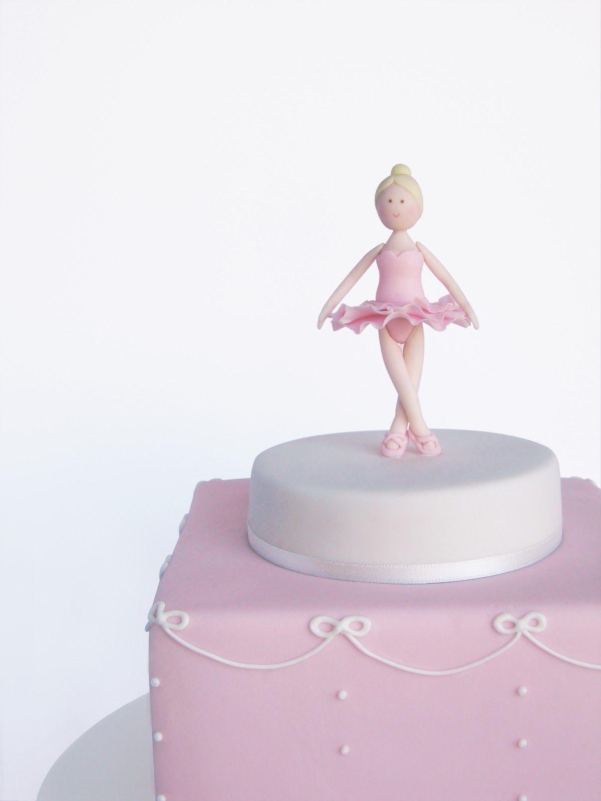 Peaceofcake ♥ Sweet Design: Ballerina Cake • Bolo Bailarina