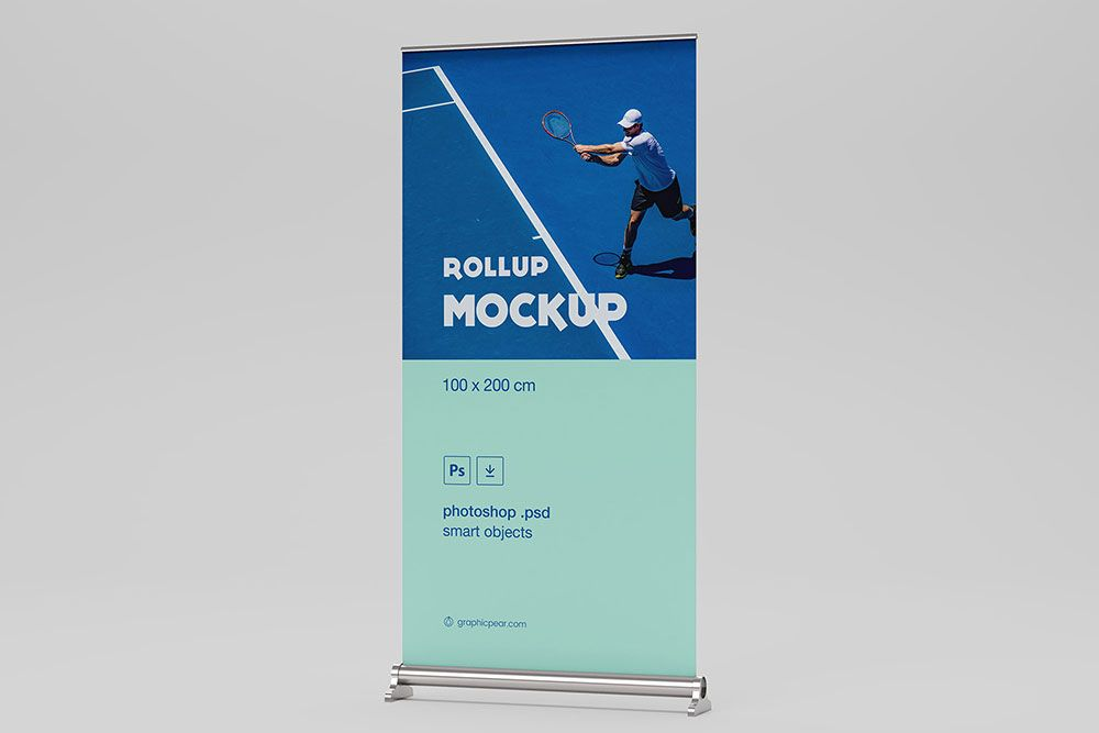 Free Psd Rollup Banner Mockup Psd Rollup Banner Mockup Rollup Banner Free Psd Free Banner