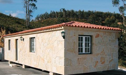 Bungalow / Mobile home en granit du portugal Granito