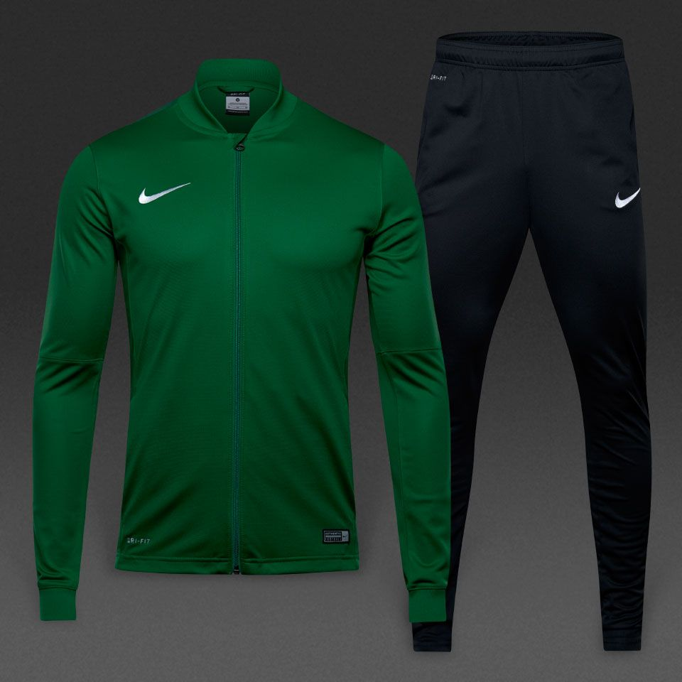 pérdida cuerno Foto  Nike Academy 16 Knit Tracksuit 2 - Pine Green/Black/Gorge Green/White |  Tracksuit, Team wear, Green & black's