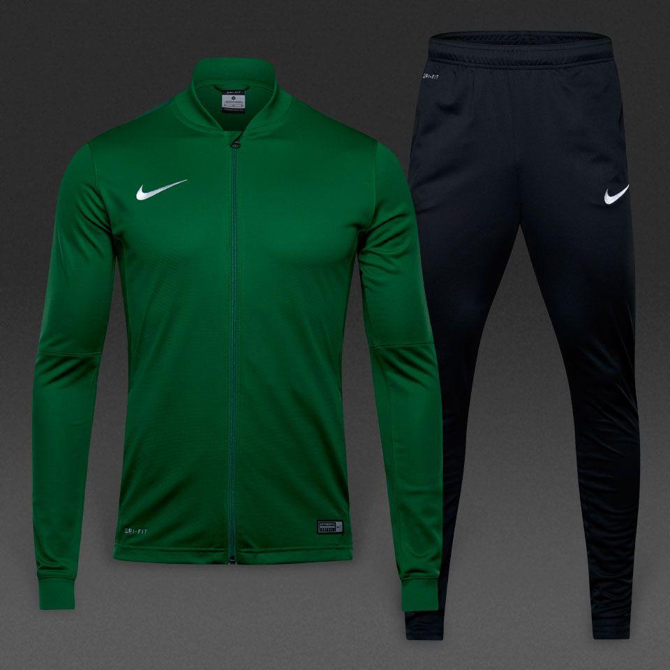 a64c1b0c3f75 Nike Academy 16 Knit Tracksuit 2 - Pine Green Black Gorge Green White