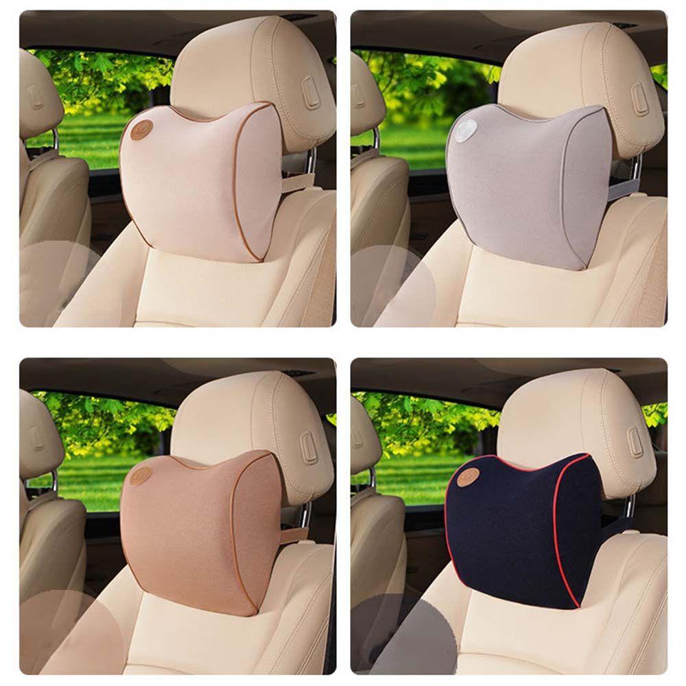 High quitly space cotton memory car seat pillow cushion car headrest