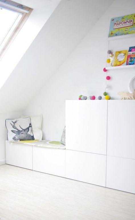 Ikea besta im kinderzimmer mit integrierter sitzbank barnrum room ikea bedroom - Besta kinderzimmer ...