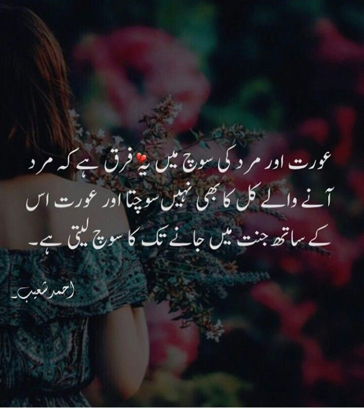 Pin by Sofia Shah on A H❤️ | Deep words, Urdu poetry, Love