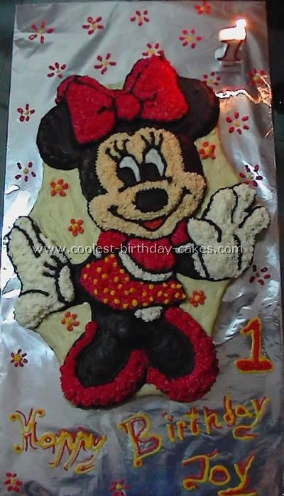 Rob may be interested in Disney style.  Minnie Mouse Childrens Birthday Cakes