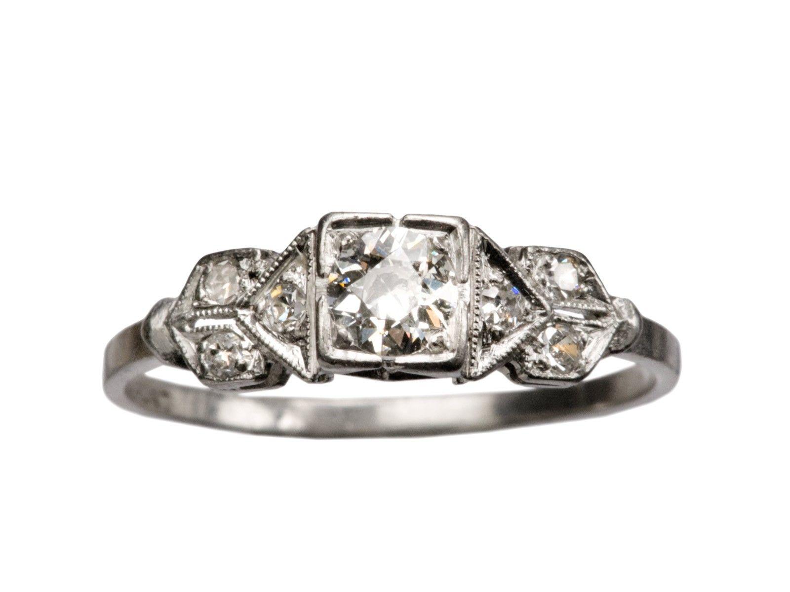 1930s 0.25ct Deco Ring