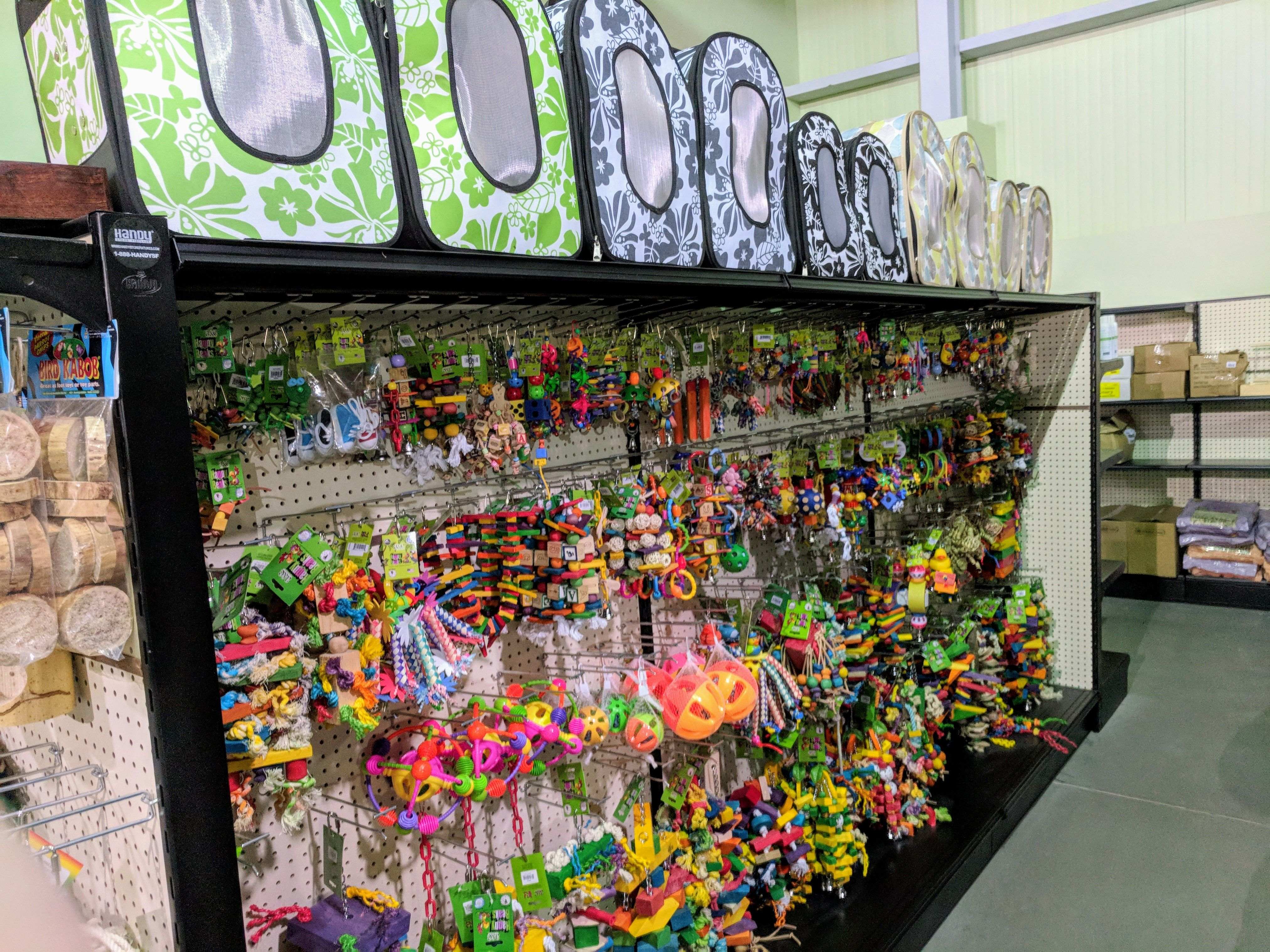 Gondola Shelving Display Efficiently Merchandising Toy Products In