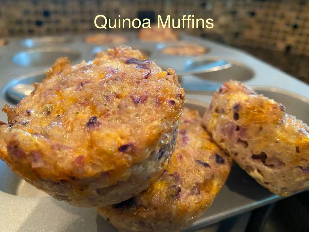 Quinoa Muffins in 2020 Quinoa mix, Quinoa muffins, Quinoa