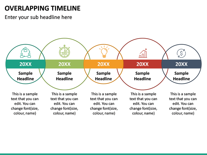 overlapping timeline in 2020 ppt microsoft powerpoint