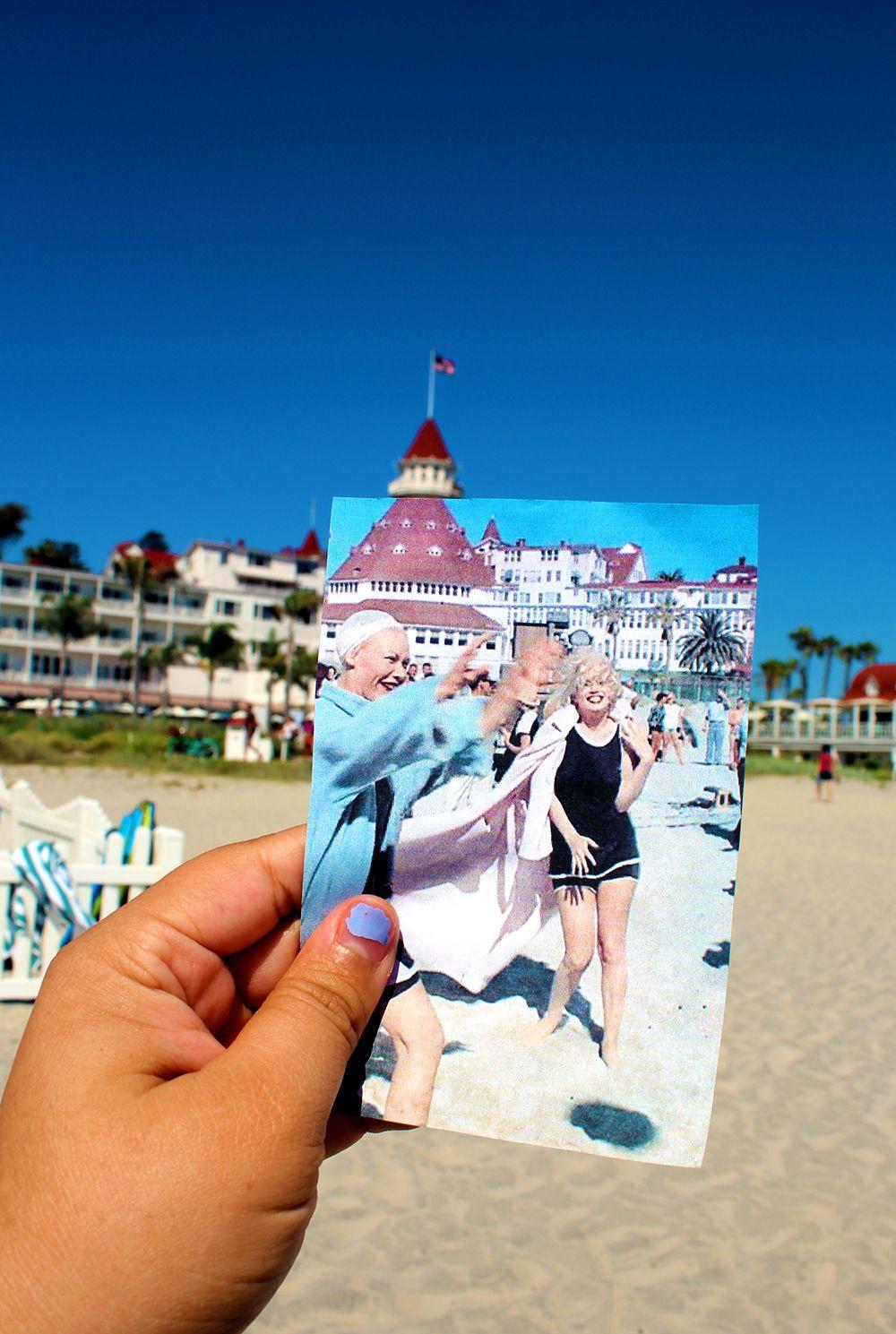 Coronado Beach San Go California Where Marilyn Monroe Filmed Some Like It Hot In 1959 I Have To Here S Cali